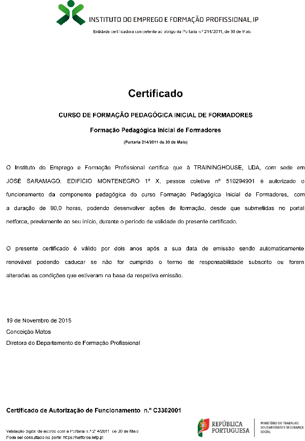 traininghouse_certificado_iefp