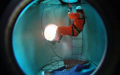 Segurança nos trabalhos em espaços confinados | 40h
