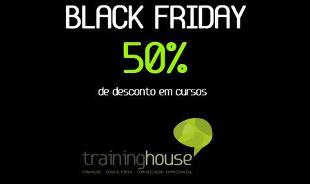 A Black Friday vem aí com 50% de desconto